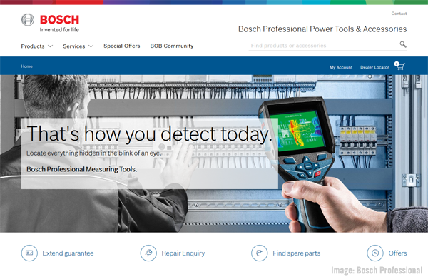 Bosch Professional image.