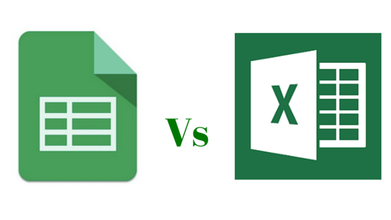 sheets VS Excel