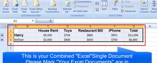 Merge Two Spreadsheets In Excel Effectively